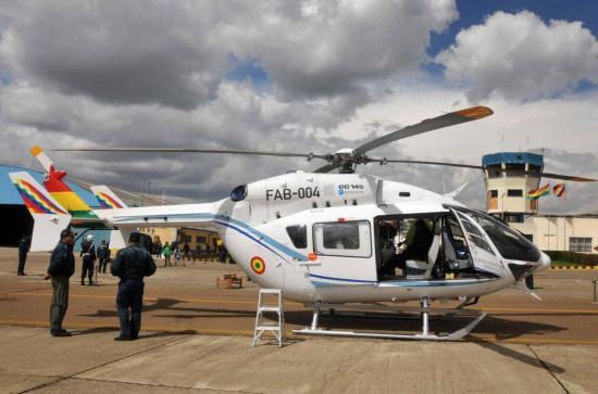 EC 145 msn 9562 Grupo 51 (© Ministerio de la Comunicacion de Bolivia)