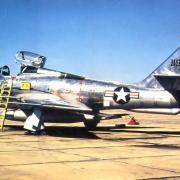 RF-84F s/n 51-1925 MI ANG - 107th TRS - Minimonde76
