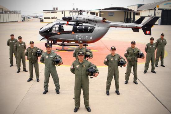 EC145 PNP-128 msn 9619 (© Ministerio del Interior de Peru)