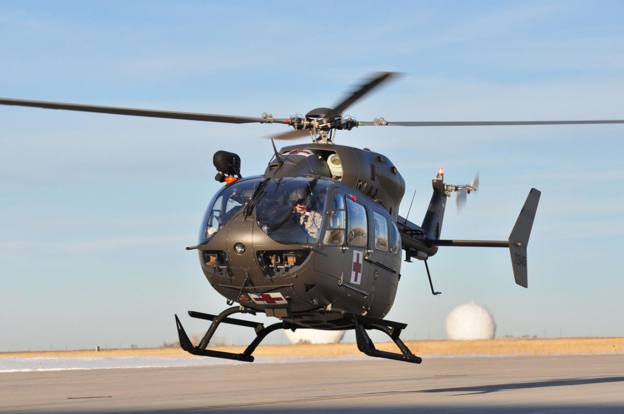 UH-72A #72145 msn 9381 US Army Air Ambulance (© Airbus Helicopters)