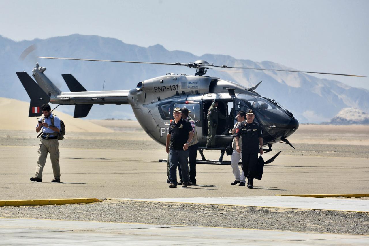 EC 145 msn 9655 Peruvian police (© Ministerio de Interior del Peru)