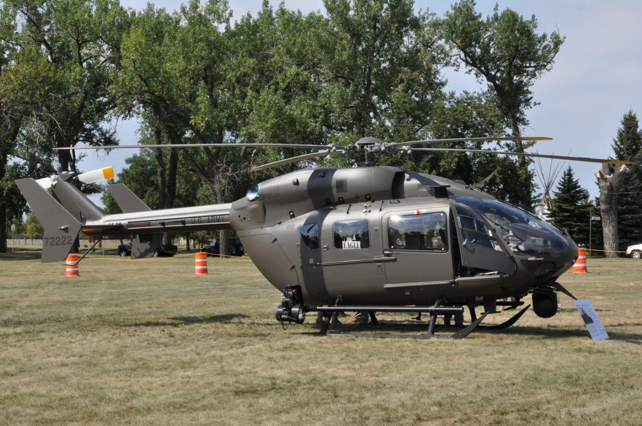 UH-72A msn 90498 s/n 72222 (© North Dakota National Guard)