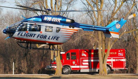EC145 N184WK msn 9171 (© Flight For Life Transport System)