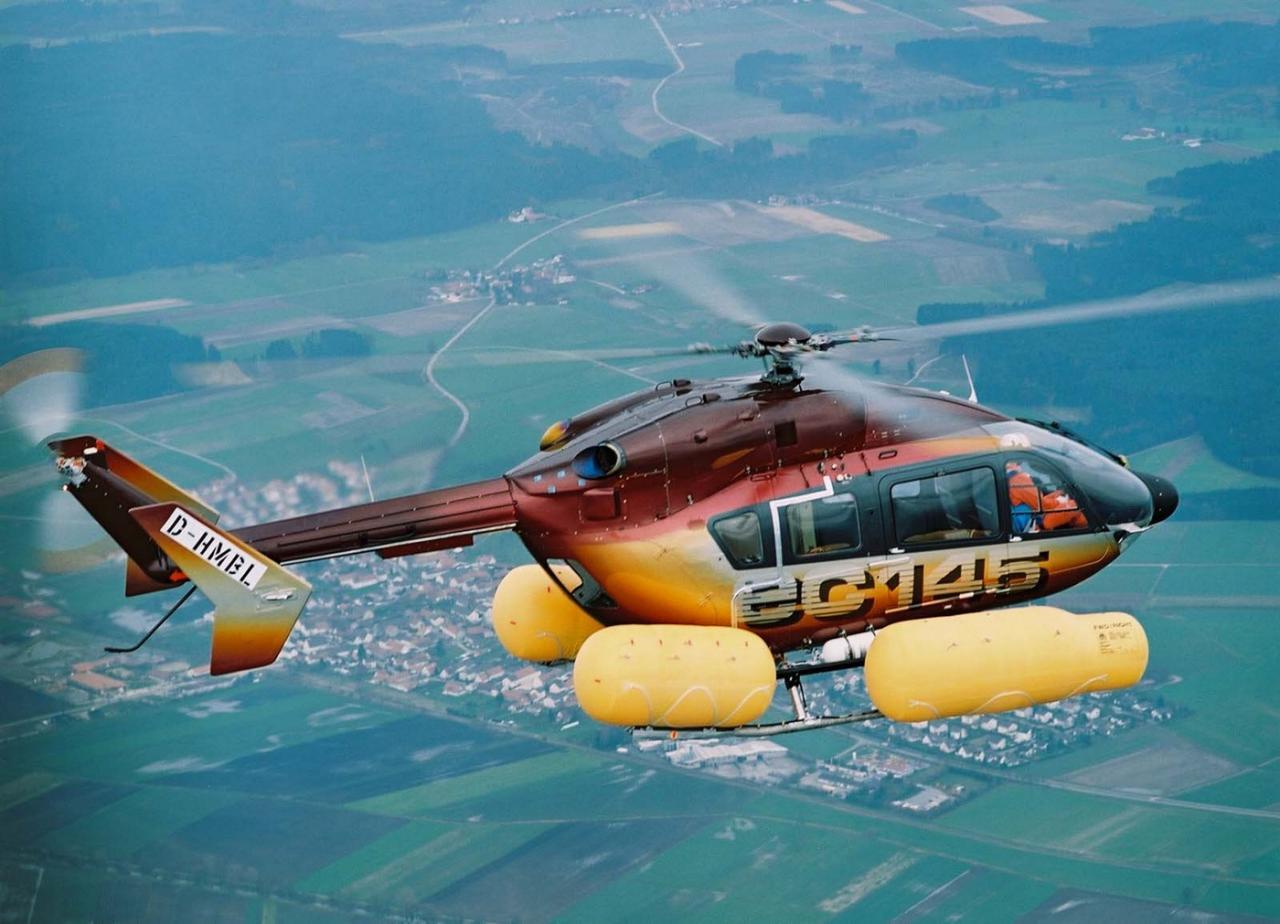 EC145 D-HMBL msn 9002 (© Eurocopter)