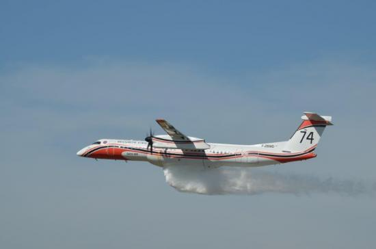 Dash-8 dropping