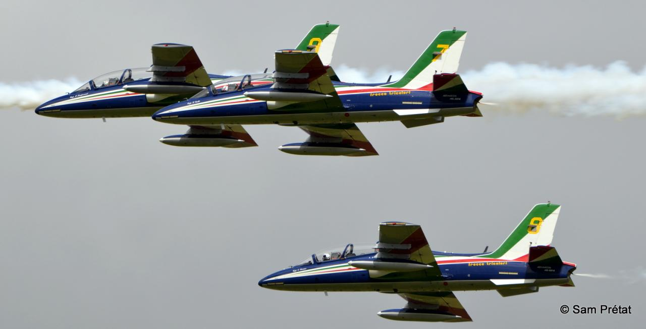 MB 339 PAN Freece Tricolori