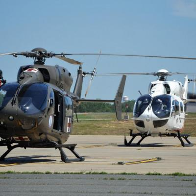 UH-72A msn 90208 s/n 72052 & 9272 BuNo 168248/73 (© Airbus Helicopters)