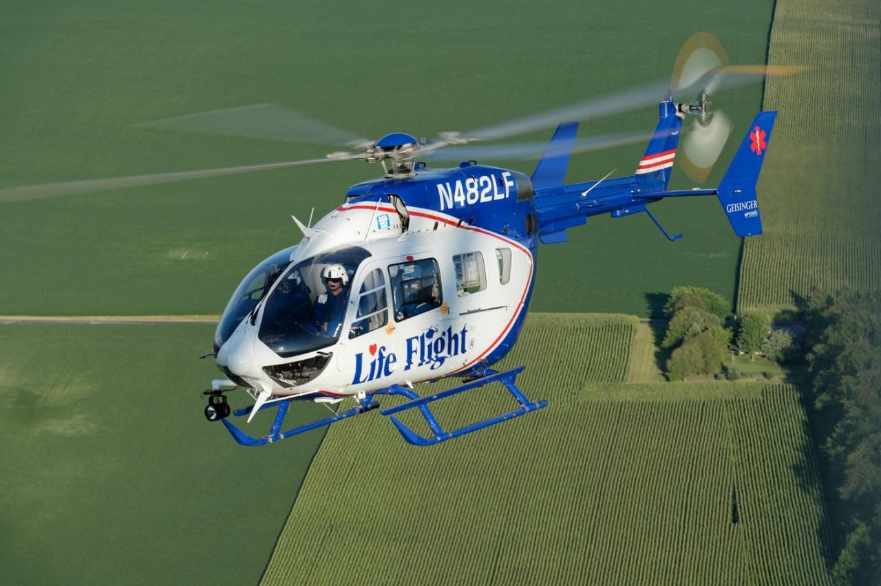 EC145 N482LF msn 9118 (© Airbus Helicopters)
