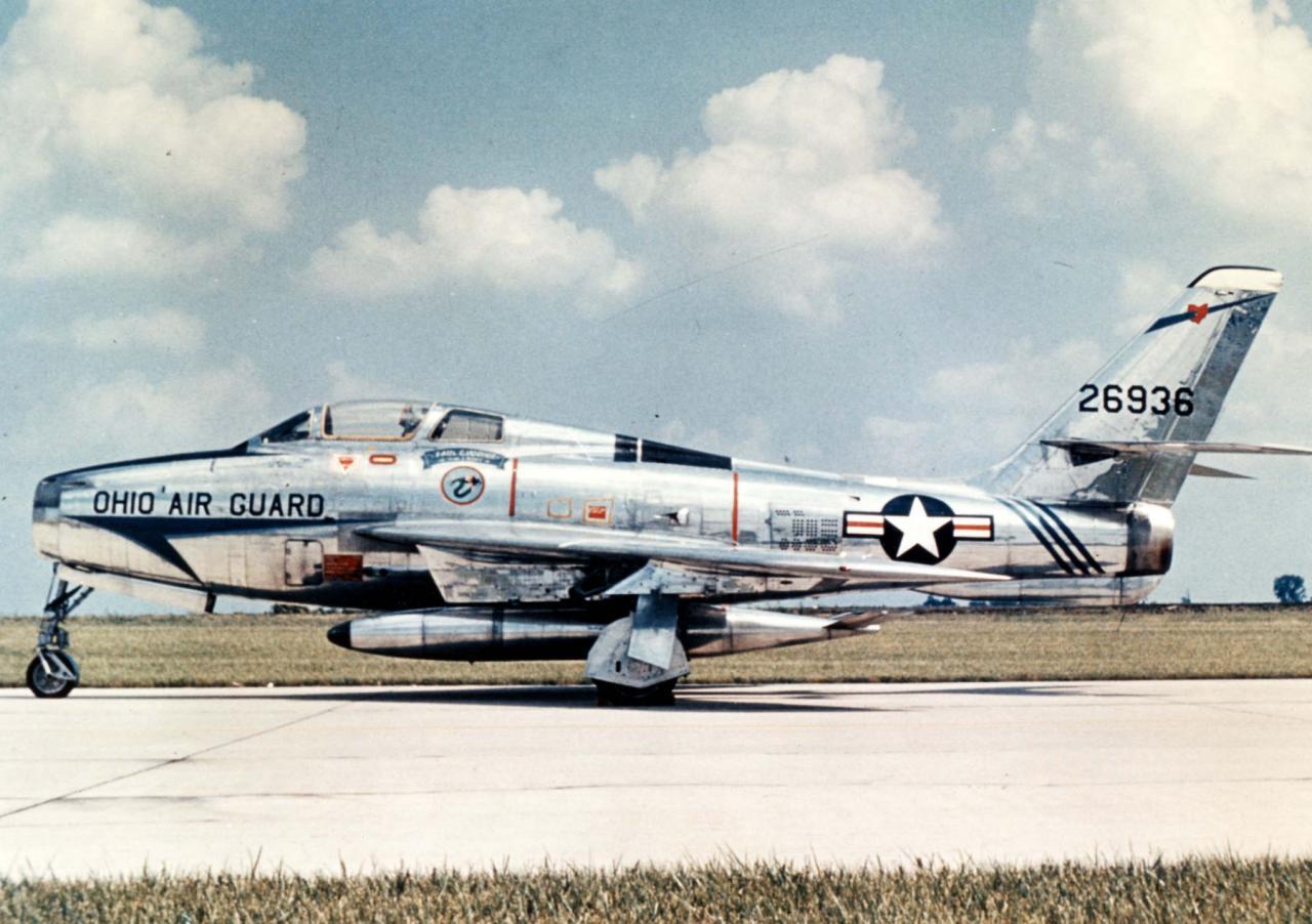 F-84F-55-RE s/n  52-6936 Ohio Air National Guard - Minimonde76