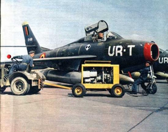 F-84F BAF - Minimonde76