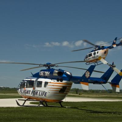 EC145 msn 9174 & 9171 (® Flight For Life Transport System)