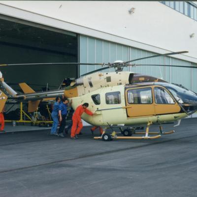 Prototype EC145 msn 9001 (© Eurocopter)