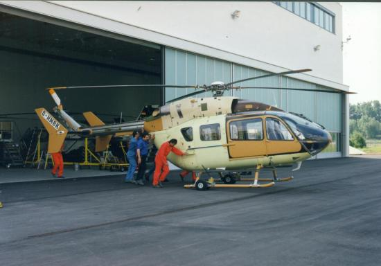 Prototype EC145 msn 9001 (© Eurocopter)