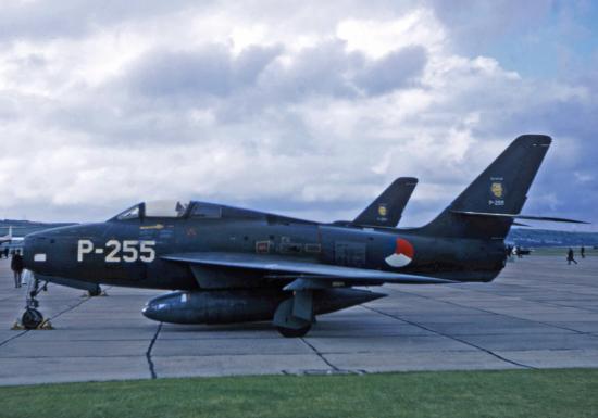 F-84F s/n 52-6748 KLu